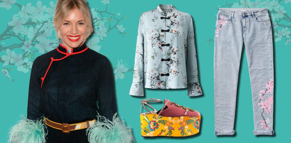 Del kimono al estampado oriental, la tendencia más exótica de la temporada