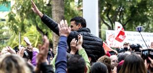 Foto de El exsecretario generalpide la revancha
